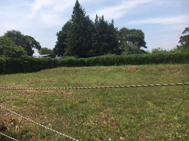 那須町伊王野除染土埋め戻し実証事業サイト